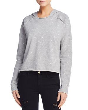 Generation Love Julien Splatter Print Hooded Sweatshirt