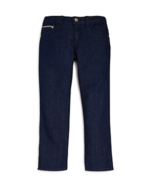 Armani Junior Boys DarkWash StraightLeg Jeans  Little Kid Big Kid