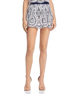 Ramy Brook Larissa Lace Skirt