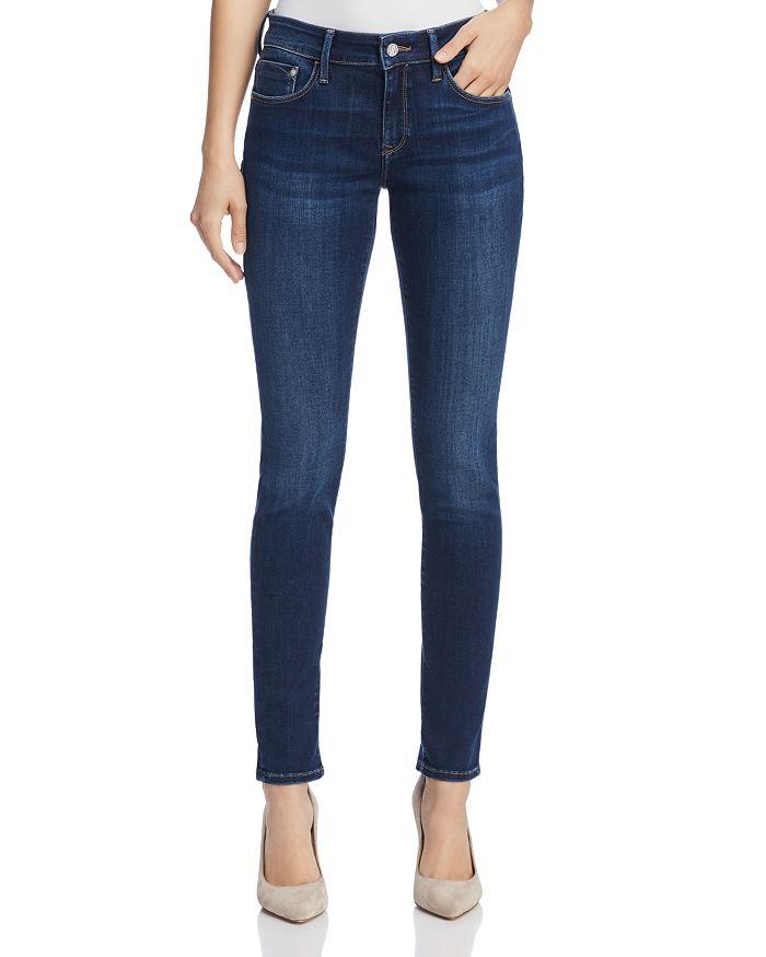 Mavi - Alexa Mid Rise Super Skinny Jeans in Dark Supersoft