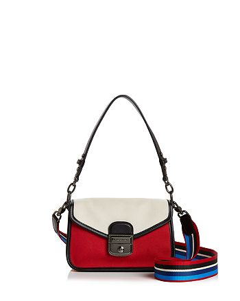 dd3ead4ac84ea1 Longchamp Mademoiselle Toile Small Leather Crossbody | Bloomingdale's