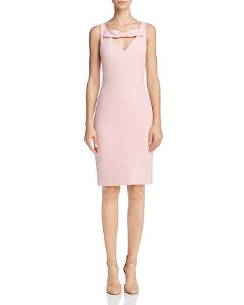 Boutique Moschino - Bow-Detail Sheath Dress