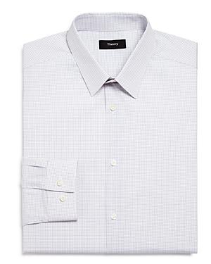 Theory Dot Slim Fit Dress Shirt-Men