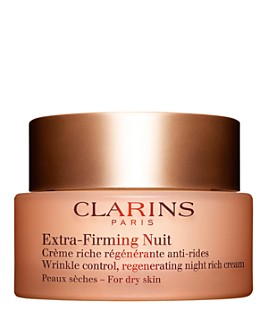 Clarins - Extra-Firming Wrinkle Control Regenerating Night Cream for Dry Skin 1.6 oz.