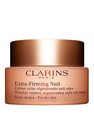 Extra-Firming Wrinkle Control Regenerating Night Cream for Dry Skin