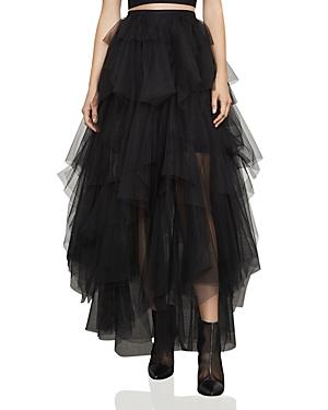 Bcbgmaxazria Camber Tiered Tulle Maxi Skirt