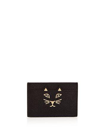 Charlotte Olympia - Feline Leather Card Case