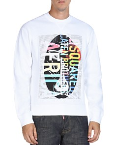 DSQUARED2 Logo Graphic Crewneck Sweatshirt - Bloomingdale's_0