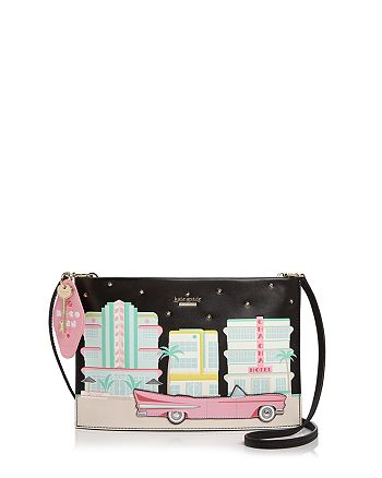 kate spade new york - Checking In Car Sima Leather Crossbody