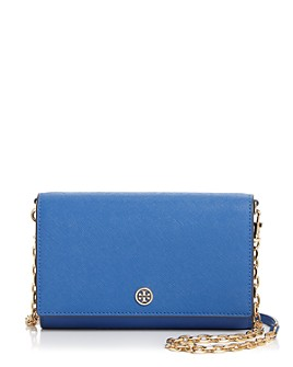 Tory Burch - Robinson Leather Chain Wallet