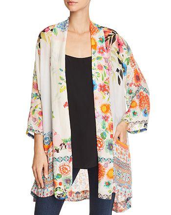 Johnny Was - Mixed-Print Kimono