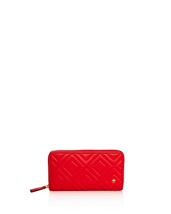 Tory Burch - Fleming Zip Continental Leather Wallet