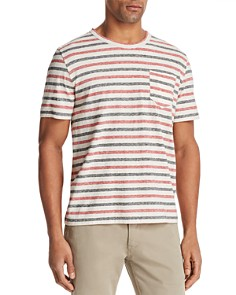 Billy Reid Striped Short Sleeve Tee - Bloomingdale's_0