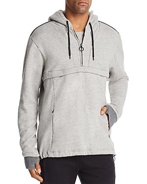 Scotch & Soda Quarter-Zip Hooded Sweatshirt