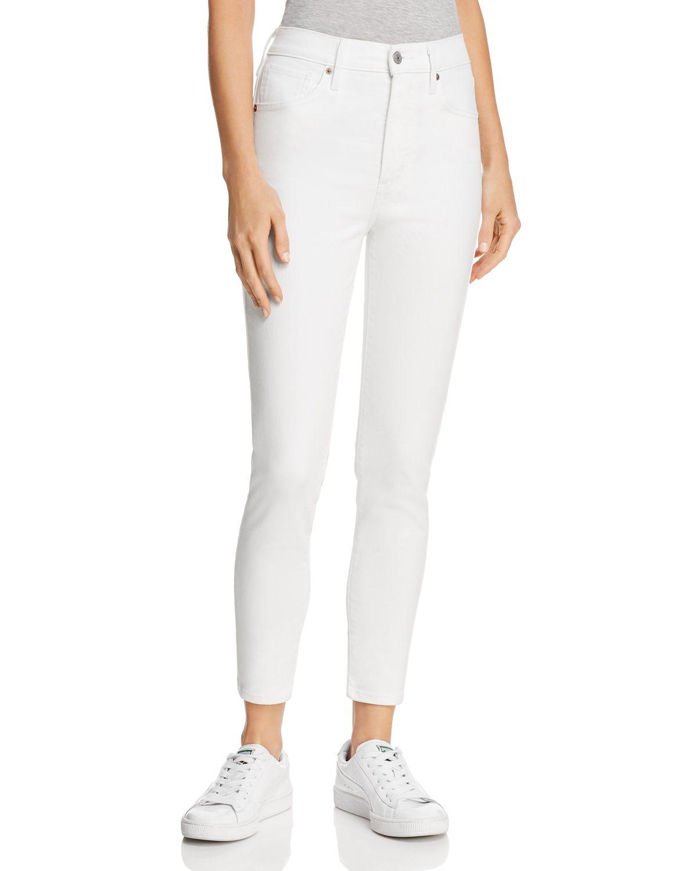 Mile High Super Skinny Jean - Western white Levi's