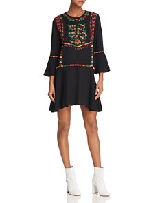 Joie Gosinda Embroidered Dress - Bloomingdale's_0