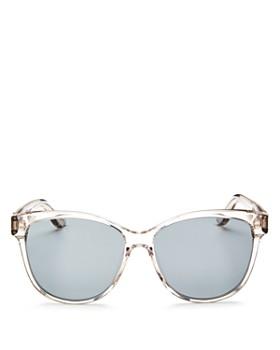 Saint Laurent - Women's Oversized Cat Eye Sunglasses, 58mm