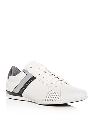 Hugo Boss Men's Space Lowp Lux Lace Up Sneakers