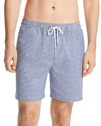 Brooks Brothers - Gingham Montauk Swim Trunks