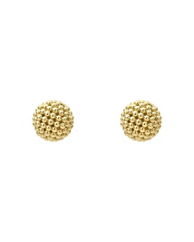 LAGOS - Caviar Gold Collection 18K Gold Stud Earrings