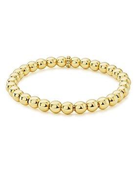 LAGOS - Caviar Gold Collection 18K Gold Beaded Bracelet, 6mm
