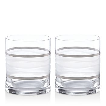 Michael Wainwright - Ile De Re Double Old Fashioned Glass, Set of 2