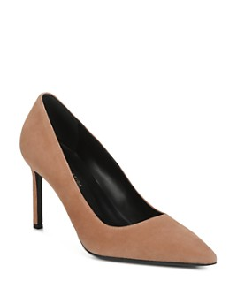 Via Spiga - Women's Nikole Suede Pointed Toe High-Heel Pumps