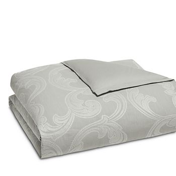 Hudson Park Collection - Modern Scroll Duvet Cover, Full/Queen - 100% Exclusive