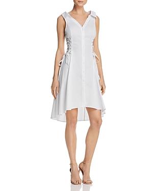 Astr  ASTR SYDNEY CORSET DETAIL SHIRT DRESS