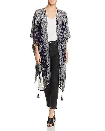 Bila - Printed Kimono Jacket