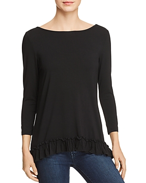Love Scarlett  RUFFLE-HEM TOP