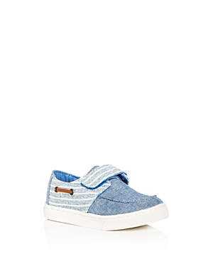Toms Boys' Culver Chambray Boat Shoes - Toddler, Little Kid, Big Kid