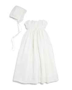 Pippa & Julie - Girls' Christening Gown & Bonnet Set - Baby