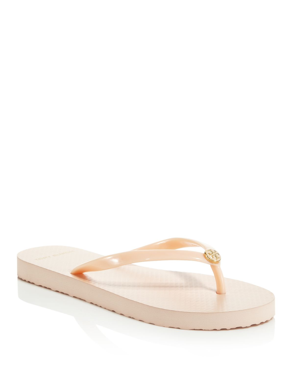 Women's Solid Thin Flip Flops  by Tory Burch