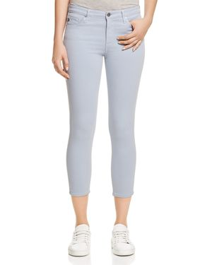 Ag Prima Crop Skinny Jeans in Wondrous Blue - 100% Exclusive