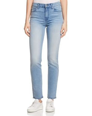 7 For All Mankind High Waist Skinny Jeans in B(air) Mirage 2842148