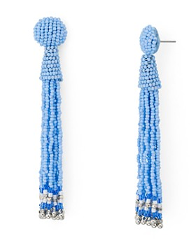 AQUA - Fringe Drop Drop Earrings - 100% Exclusive