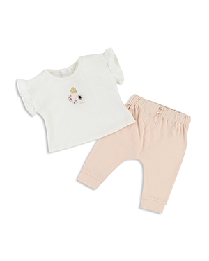 Chloe Girls Floral Tee  Jogger Pants Set  Baby
