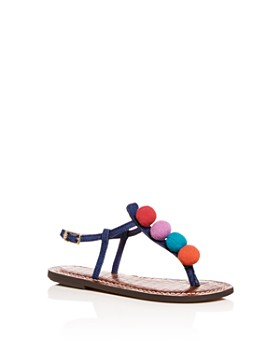 Sam Edelman - Girls' Gigi Gabe Denim Thong Sandals - Toddler, Little Kid, Big Kid