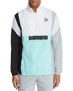 Puma Color-Block Windbreaker Anorak Jacket