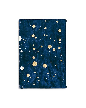 Print Fresh - Paint Splatter Velvet Small Journal