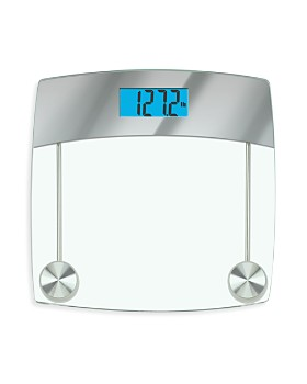 HoMedics - Mirror-Finish Digital Glass Scale - 100% Exclusive