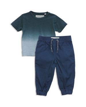 Sovereign Code Boys' Dip-Dyed Tee & Joggers Set - Baby