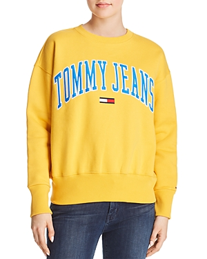 Tommy Jeans Collegiate Embroidered Logo Sweatshirt