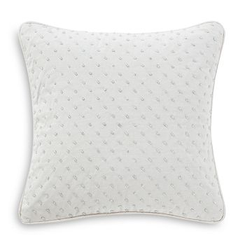 "Waterford - Florence Beaded Decorative Pillow, 14"" x 14"""