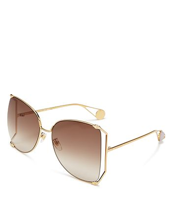 d98034cfeb21d Gucci - Women s Oversized Fork Butterfly Sunglasses