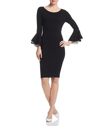 MILLY - Bell-Sleeve Dress
