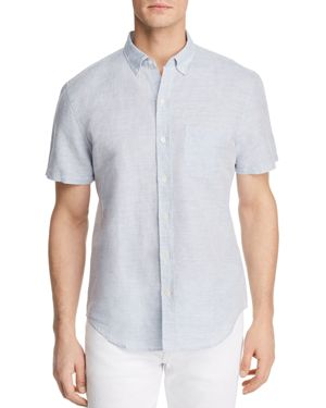 The Men's Store at Bloomingdale's Regular Fit Button-Down Shirt - 100% Exclusive
