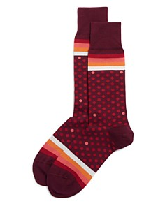 Paul Smith Polka-Dot & Stripe Socks - Bloomingdale's_0