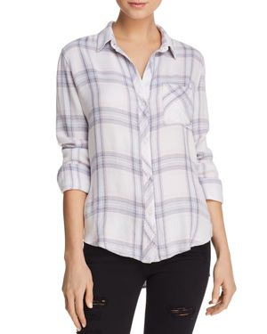 Lavender Hunter Plaid Shirt